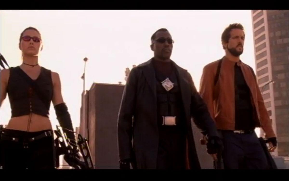 『ブレイド3(2004・アンレイテッド版)』予告篇映像より引用。